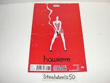 Hawkeye #8 Comic Marvel 2013 1st Print Matt Fraction David Aja 4th Series 2012