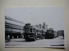 N157 - 1947 NZH DUTCH RAILWAY - HAARLEM ~ TRAIN PHOTO Netherlands