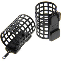 5 x  Next Generation  Fishing Tackle Round Metal Cage Feeders 25g Swimfeeders