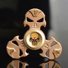 Hand Spinner, Stress Reducer, Triangle .Skull Shape, Zinc Alloy Material. 1 pc