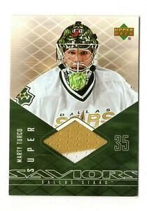 MARTY TURCO NHL 2003-04 UPPER DECK SUPER SAVIORS (DALLAS STARS,BLACKHAWKS,BRUINS