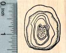 Geode Rubber Stamp, Geology Series E33121 WM