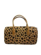 DUNE - ANIMAL PRINT LEATHER HANDBAG