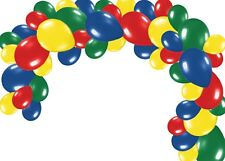 LONG Garland Primary Colors Birthday Paw Patrol Color Balloons Birthday DIY Kit