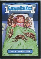 Garbage Pail Kids Mini Cards 2013 Black Parallel Base Card 154b Infested ISABEL