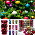 24X Christmas Tree Decor Ball Bauble Hanging Xmas Home Party Ornament Decoration