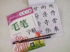 2 CHINESE WRITING CALLIGRAPHY PRACTICE EXERCISE BOOK W 2 BRUSH LEARNER SCHOOL A3