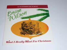 "7"" Brian Wilson (Beach Boys) - What I really want for Christmas (White Vinyl)"