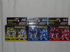 Toynami / Robotech Macross / Super Deformed Morpher VF-1 Super Veritechs x3 NEW