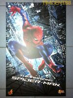 Hot Toys MMS179 1/6 The Amazing Spider-Man Spiderman Andrew Garfield Figure New