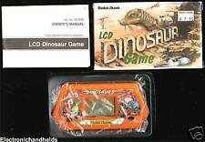 RADIO SHACK LCD DINOSOAUR ELECTRONIC HANDHELD GAME JURASSIC PERIOD DINO PARK TOY