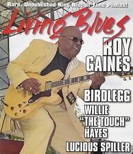 """LIVING BLUES MAGAZINE NUMBER 227 OCT 2013 ROY GAINES WILLIE """"THE TOUCH"""" HAYES"""