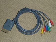 Microsoft Xbox 360 Cable HDTV compuesto componente adaptador de plomo nuevo Óptico HD TV