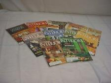 "Lot of 12 ""Old-House Interiors""  Magazines for DIY Remodeling Renovation F187"