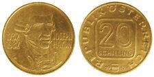 AUSTRIA 20 SCHILLING 1982  250th ANNIVERSARY BIRTH OF JOSEPH HAYDN  #2830