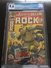 OUR ARY AT WAR SGT ROCK 238 CGC 9.6 WHITE PAGES NEW SLAB JOE KUBERT ART