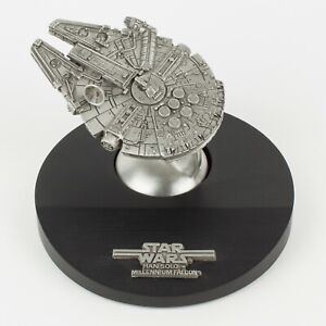 Han Solo Millennium Falcon | Vintage 1990s Star Wars Figure by Rawcliffe Pewter