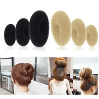 Women Ladies Girls Magic Shaper Donut Hair Ring Bun Fashion Accessory