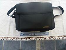 """Compaq 13""""/33 cm wide Vintage Black Laptop Shoulder Strap Case / Bag Original"""