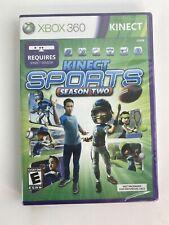 Kinect Sports Season 2 Xbox 360 BRAND NEW FACTORY SEALED