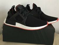 ADIDAS NMD XR1 CORE BLACK-CORE BLACK-SOLAR RED BY9924 MEN TRAINERS SIZE U.K 11.5