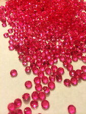 2000 Fuchsai Acrylic Diamond Confetti 1/3ct for Wedding Decoration Table Scatter