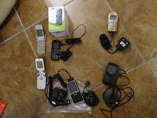 JOB LOT OF OLD RANDOM PHONES - Sold As Seen