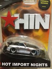 Hot Wheels HIN Honda S2000 HIN #G8209 RARE Hot Import Night Silver New J4