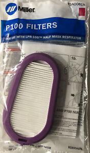 Miller Half Mask & GVS Elipse Replacement Filter Kits Genuine