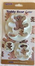 PME TEDDY BEAR CUTTER for sugarcraft & cake dec