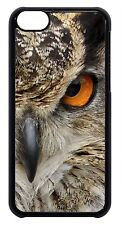 Cute Owl Eyes Animal Print Feather Case Cover for iPhone 4 4s 5 5s 5c 6 6 Plus