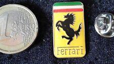 Ferrari Logo Pin Badge Pfeder Emblem glasiert gross