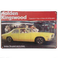 Holden Kingswood Car Tin Sign Bar Shed Garage Man Cave Wall Plaque 30cm x 20cm