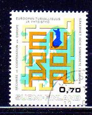 FINLAND #529  1973 SECUTITY     MINT  VF NH  O.G  CTO  a