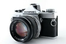 N-Mint🌟 Olympus OM-2 Silver 35mm Film Camera + OM-System 50mm F/1.4 from Japan