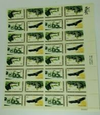 1971 Wildlife Conservation 8 Cent Sheet of 32 Mint