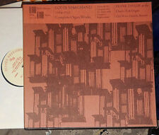 LOUIS MARCHAND COMPLETE ORGAN WORKS FRANK TAYLOR ORGEL OLD WEST BOSTON 2-LP BOX