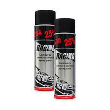 2x KWASNY 288 921 AUTO-K RACING Lackspray Schwarz Matt 500ml