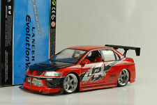 2004 Seans Mitsubishi Lancer EVO Fast & and Furious Tokyo drift 1:18 Jada Toys