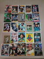 HALL OF FAME Baseball Card Lot 1978-2020 TOM SEAVER ORLANDO CEPEDA ALBERT PUJOLS