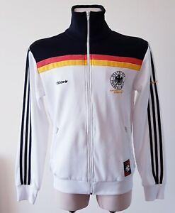 Germany 1980 Home football Adidas reproduced jacket size M
