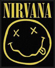 "Nirvana "" Smiley "" Patch/Aufnäher 602546 #"