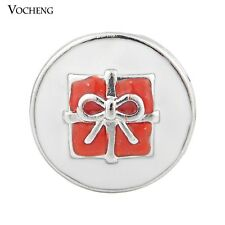Snap Charms Vocheng 18mm Christmas Gift 2 Colors Metal Button Jewelry Vn-870