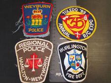 Burlington Fire brigade /Weyburn Police  Ambulance Obsolete HAMILTON   ref:MMJ30