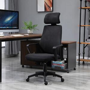 Ergonomic Office Chair, Wheel, Mesh Back, Adjustable Height Home