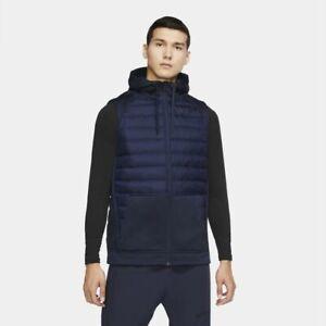 Nike Therma Men's Winterized Full-zip Training Vest Jacket BV4534 Large Tall NWT