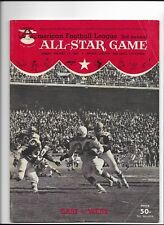 AFL 3rd Annual All-Star Game Program Jan 1964 Balboa Stadium San Diego VINTAGE