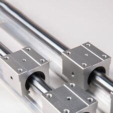 SBR16 -1000mm Linearführung Linear Guide Rail + 4x SBR16UU Lagerblock Verkauf-`
