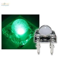 10 SuperFlux LED verde PIRANHA 5mm , Verde SPIDER LED verde vert Verde grande