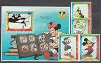 Nevis - Mail Yvert 667/70+ H, 53 MNH Walt Disney